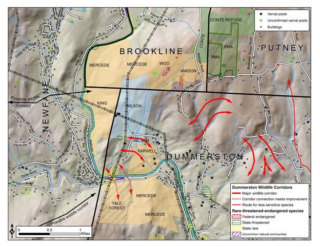 Map of Deer Run Nature Preserve
